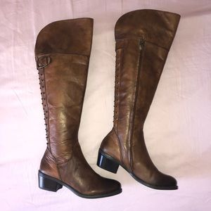 Vince Camuto Over the knee riding boot